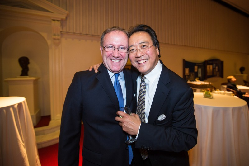 Gary Dunning and Yo-Yo Ma